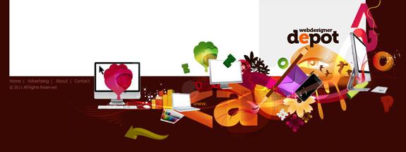 Web Designer Depot - Footer Design