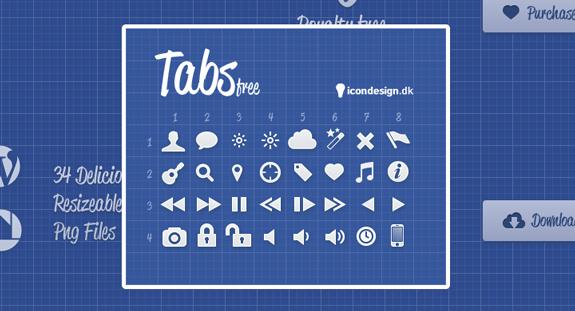 Tabs Free Icons
