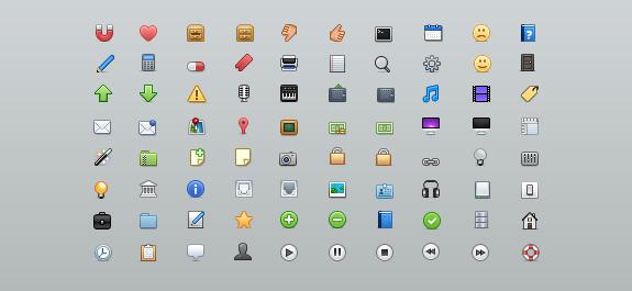 Vento Icon Set and Source