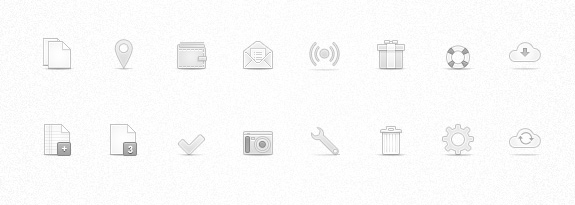 Soft Media Icons Set Vol 2