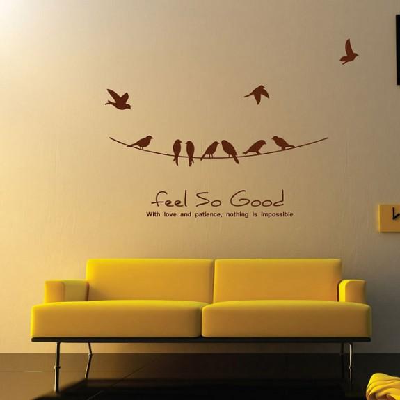 Inspiring Wall Sticker Art