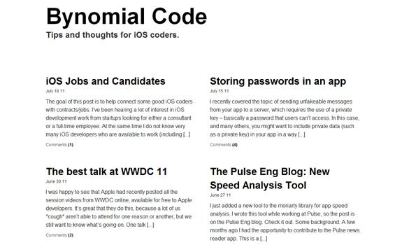 Bynomial Code