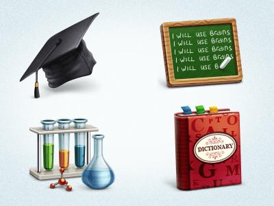 Free Academic Icon Set