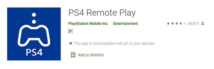 PS4 Remote Play for PC