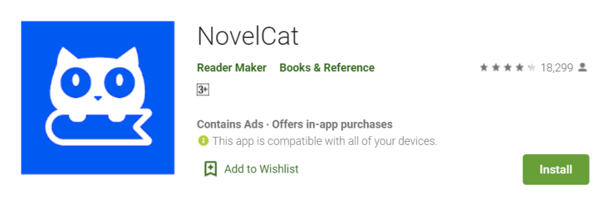 NovelCat for PC