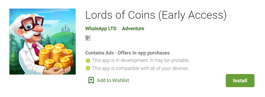 Lords of Coins