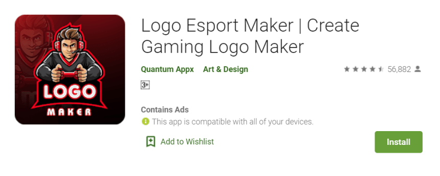 Logo Esport Maker PC