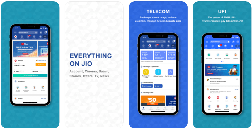 MyJio for PC download