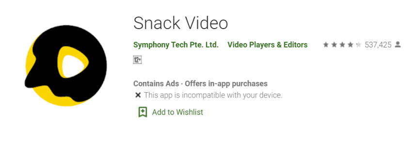 Snack Video for Mac