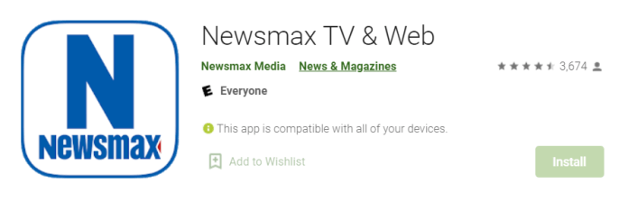 Newsmax TV for Mac