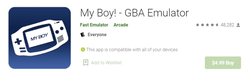 My Boy GBA for Mac