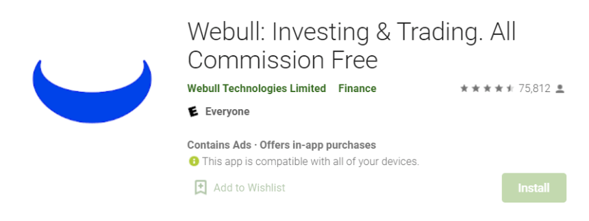 Webull for Mac