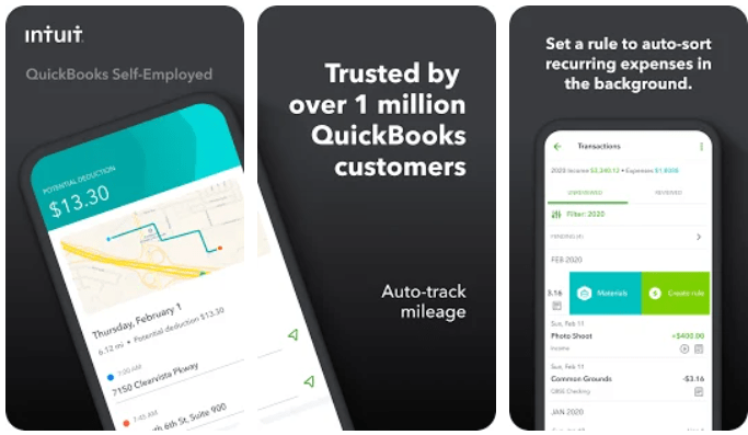 QuickBooks Self Employed app on PC