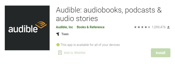 Audible for Mac