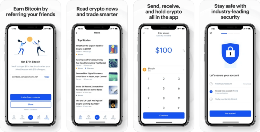 Coinbase app PC download