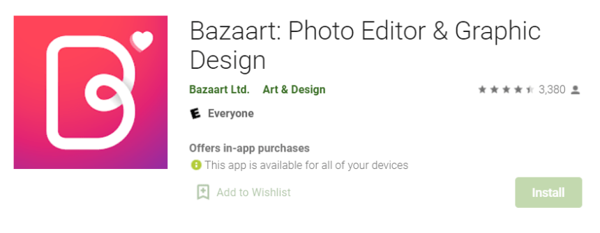 Bazaart for Mac