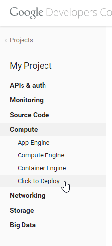 click-to-deploy-google-console