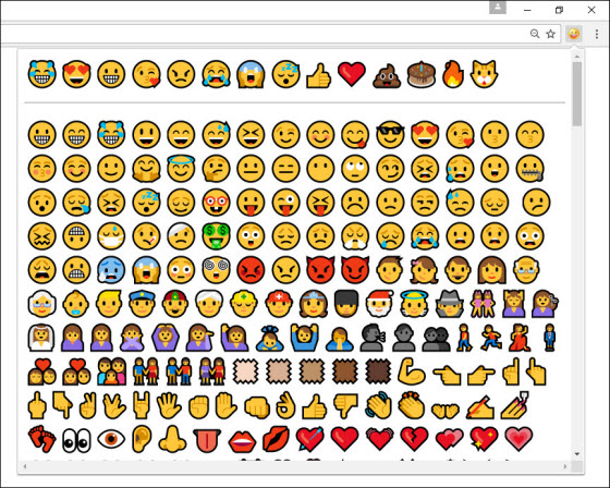 emoji-chrome-canary-windows