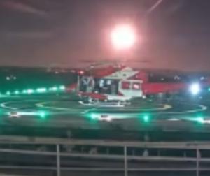 アデレード病院の屋上カメラが撮影した隕石