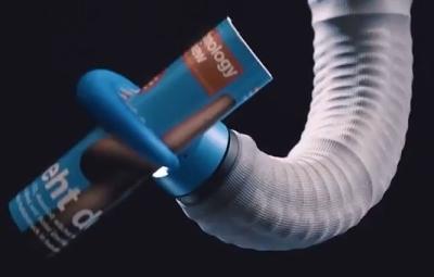 タコ足を模倣したロボットアーム