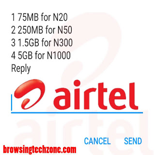 How to activate Airtel 5GB for N1000, 1.5GB For N300, 250MB For N50 And 75MB For N20