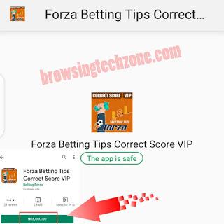 Forza betting tips correct score