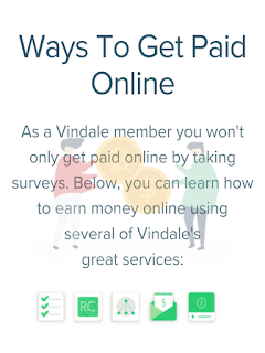 How to get paid online by vindale research