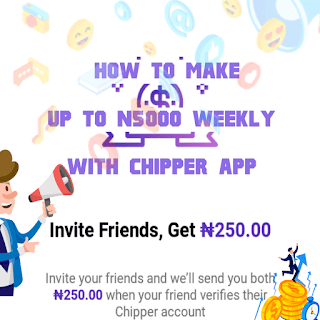 How to make money with chipper app