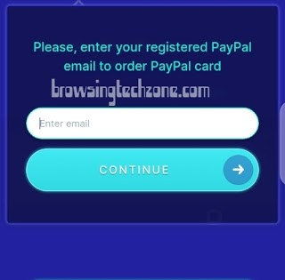 Payment screen on surveytime