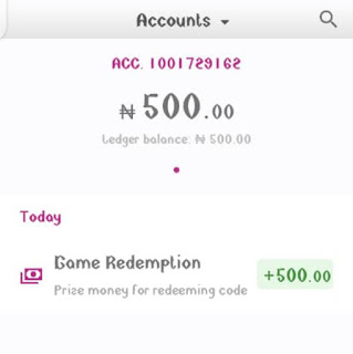 free N500 From VFD Bank