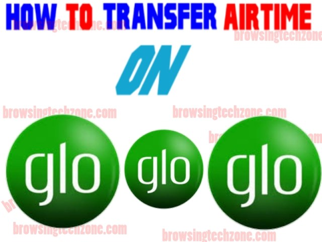 How to transfer Airtime on Glo to Glo