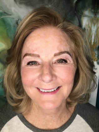 Microblading on older skin by Bliss Beauty & Brow Boutique