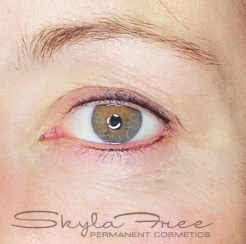 Permanent eyeliner by Bliss Beauty & Brow Boutique