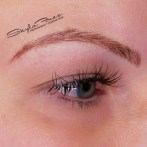 After microblading by Bliss Beauty & Brow Boutique