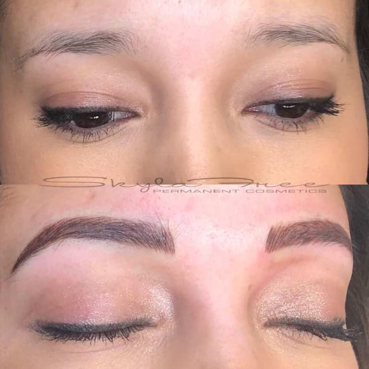 Full Stroke Combo Brow by Bliss Beauty & Brow Boutique in Kansas City