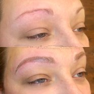 Microblading done by Bliss Beauty & Brow Boutique