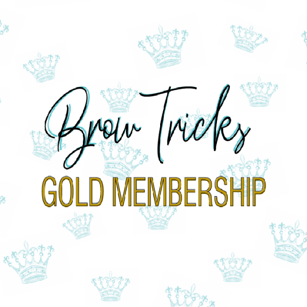 BrowTricks Annual GOLD Membership (20% off ALL orders)