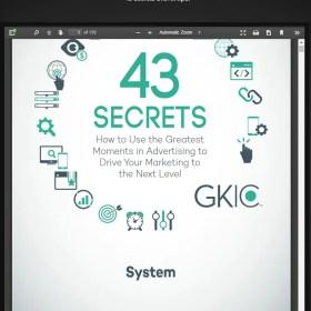 Download Dan Kennedy – 43 Secrets To Advertising