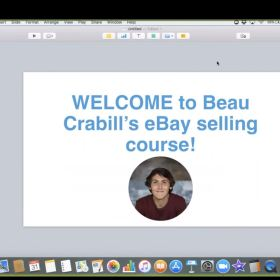 Download Beau Crabill – Full eBay Course