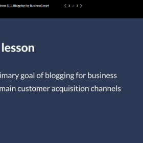 Ahrefs Academy – Blogging for business