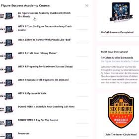 Download Mike Balmaceda & Ty Cohen – Six Figure Success Academy