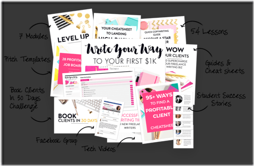 Download Elna Cain – Write Your Way to Your First $1k