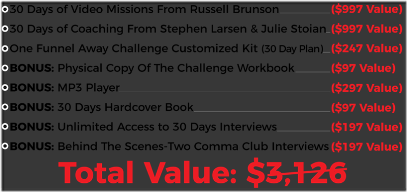 Download Russel Brunson – One Funnel Away Challenge 2019