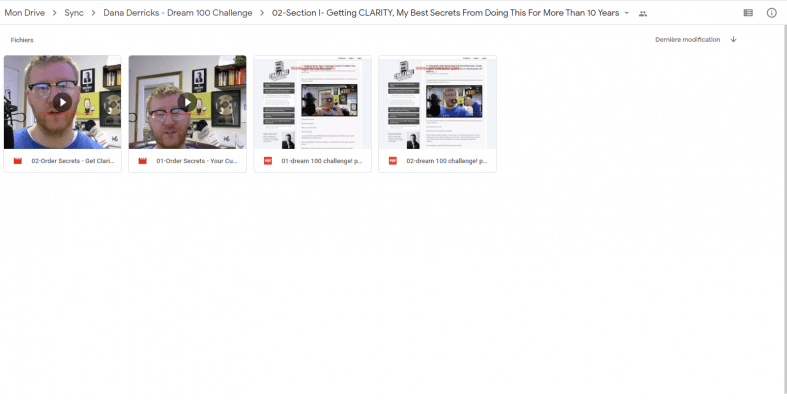 Download Dana Derricks – Dream 100 Challenge
