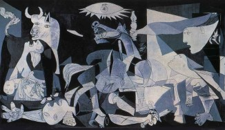 """Inspiration Image- """"Guernica"""" by Pablo Picasso (Blood Wedding)"""