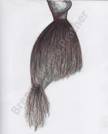 Mermaid Tail Skirt - Ballpoint Pen 2013-2014