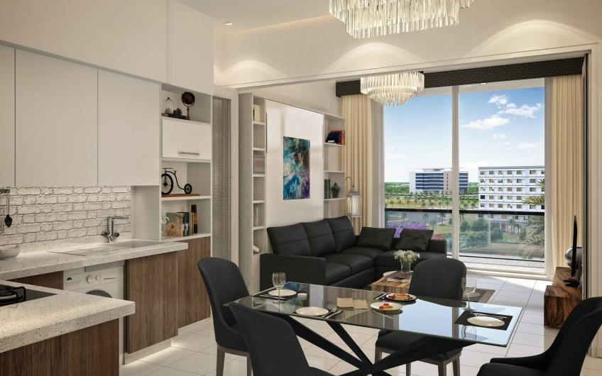 Full furnished 1 bedroom apartments for sale in Dubai – Jewelz by Danube