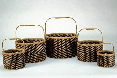 Calabash Clam Basket Set by by Billie Ruth Sudduth