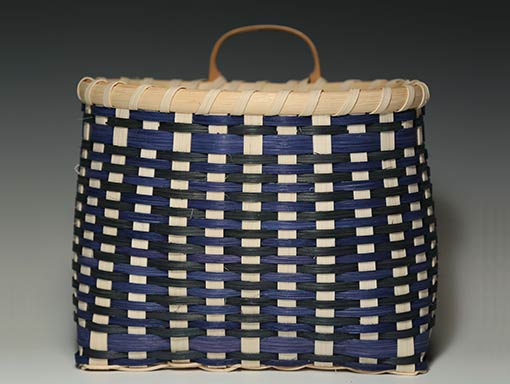 Photo of Billie Ruth Sudduth's Pantry Basket in Blue and Green