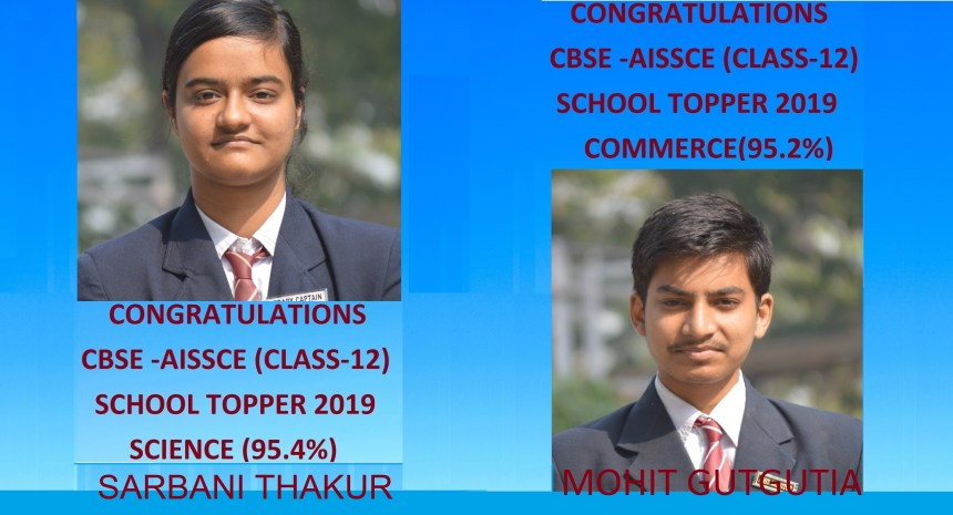 CBSE TOPPER MAR 2019